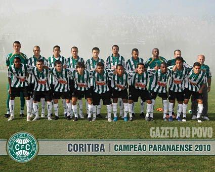 Campeão Paraense 2010 - Coritiba