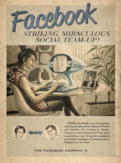 Anúncio Vintage Facebook