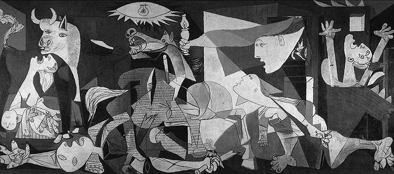 pinturas de picasso. pintado por Picasso en el