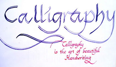 Calligraphy Letters: Learn To Write Calligraphy | Science ...