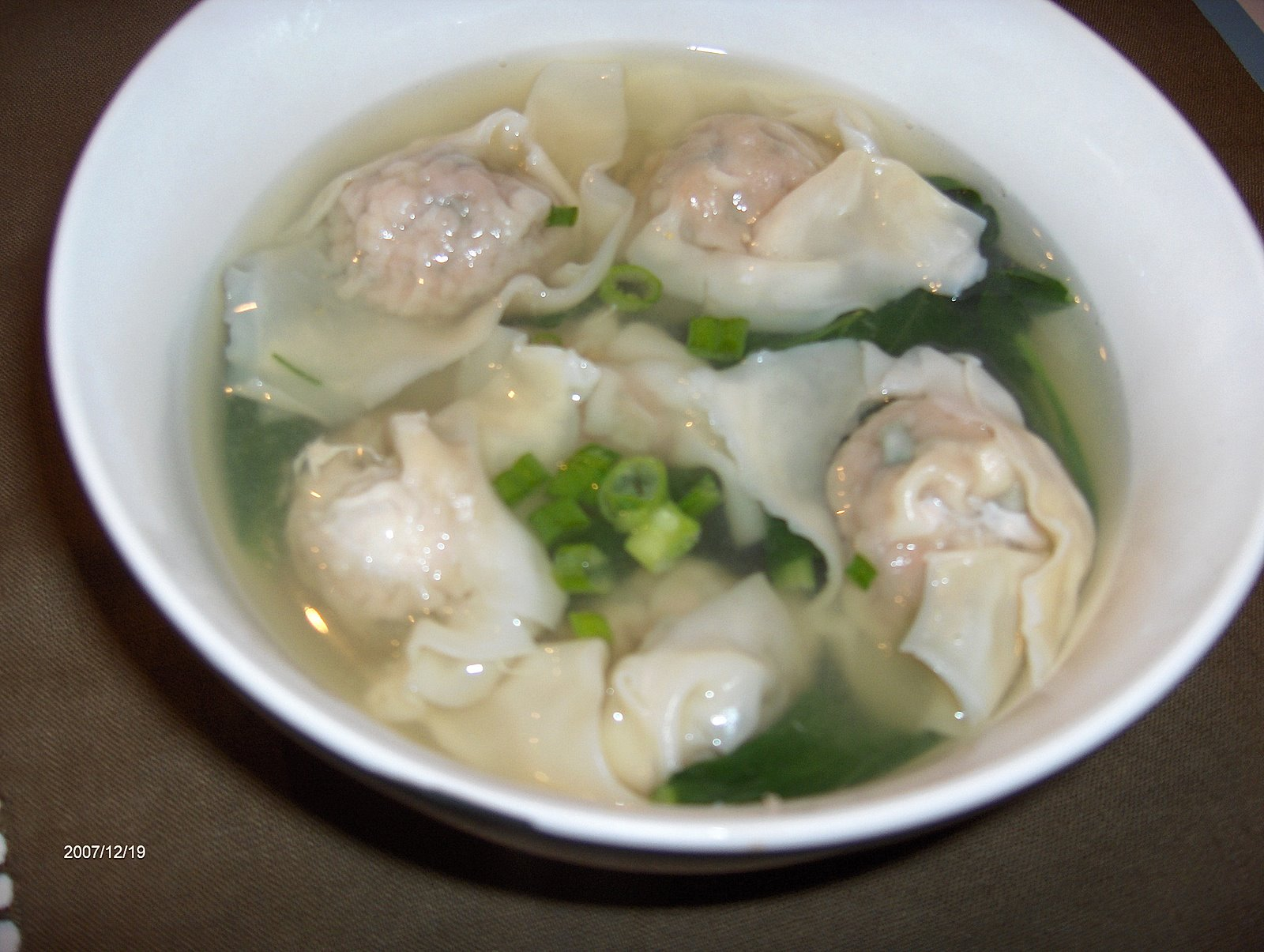 Little Bellevue Kitchen: Wonton Soup