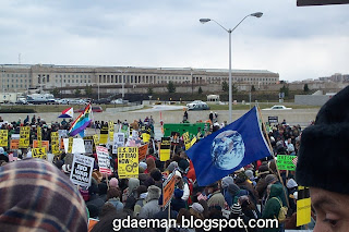 Peace Protest Pentagon 2007