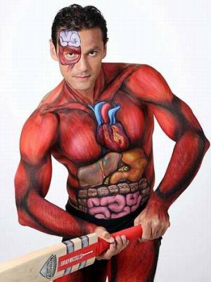 body painting 2012