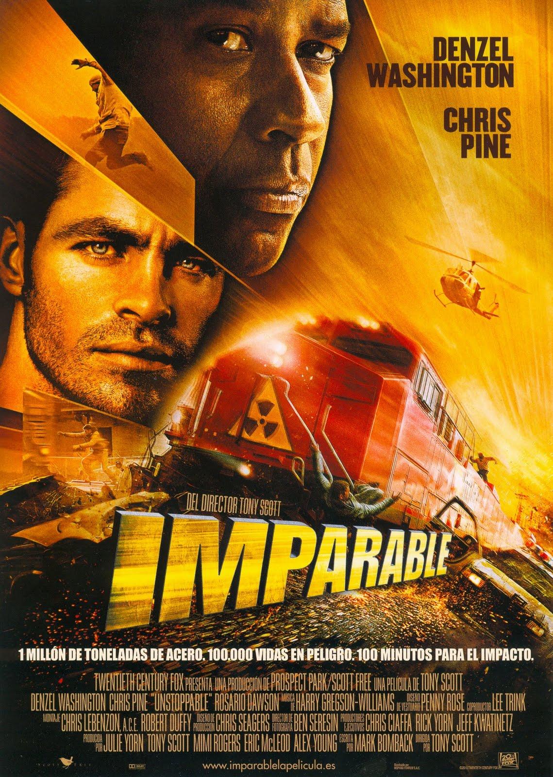 ¿Cual es la ultima película que has visto? - Página 2 Imparable