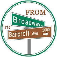 Smitten Ice Cream Logo from broadway to bancroft: smitten ice cream