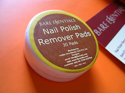Review Bare Essentials Nail Polish Remover Pads