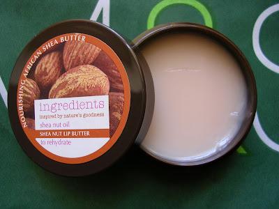 Marks Spencer Shea Nut Lip Butter
