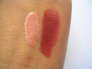 Avon Deluxe Chocolate Ultra Colour Rich Lipstick swatch review