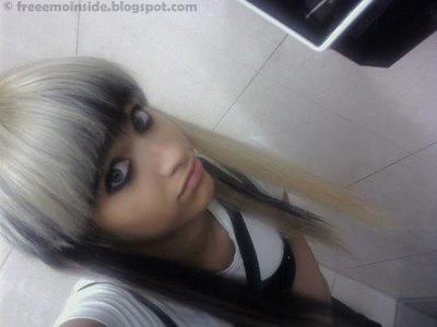 Hairstyle Emo Girl Wallpaper(02)
