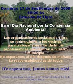 Día Nacional por la Conciencia Ambiental