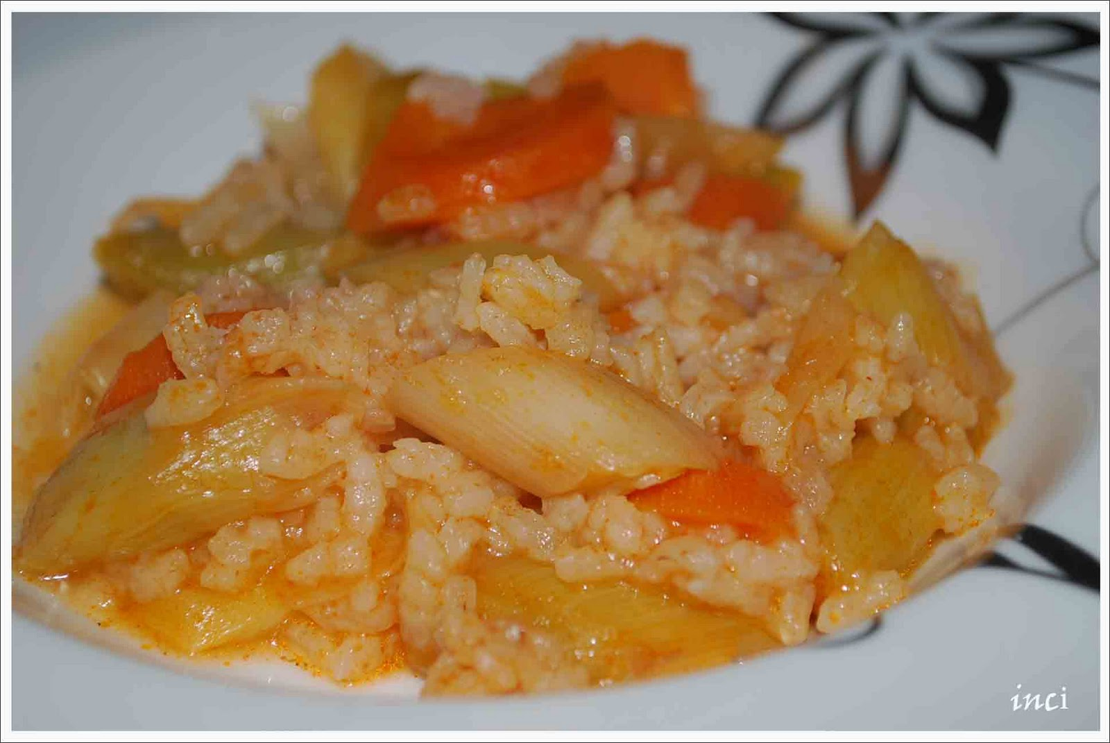 Pirinçli Pırasa Yemeği