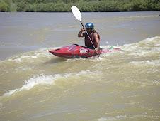 Kayakers accompany
