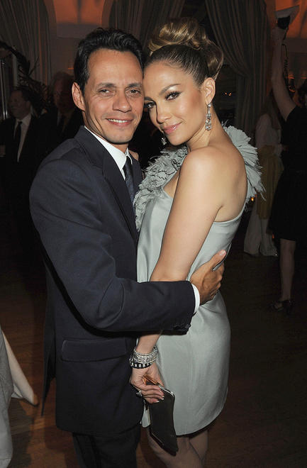 Jennifer Lopez and husband singer Marc Anthony