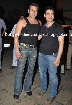 ¿Cuánto mide Salman Khan? - Real height Aamir-and-Salman