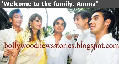 latest news pictures of shashi tharoors sonschildren