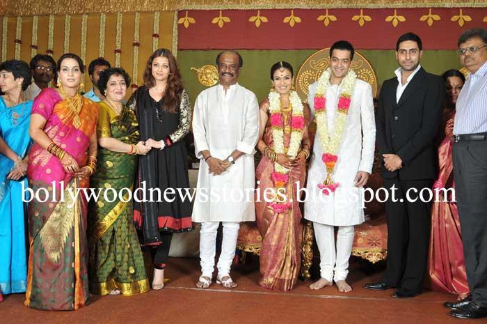 Latest News Aishwarya Rai And Abhishek Bachchan At Rajnikanths