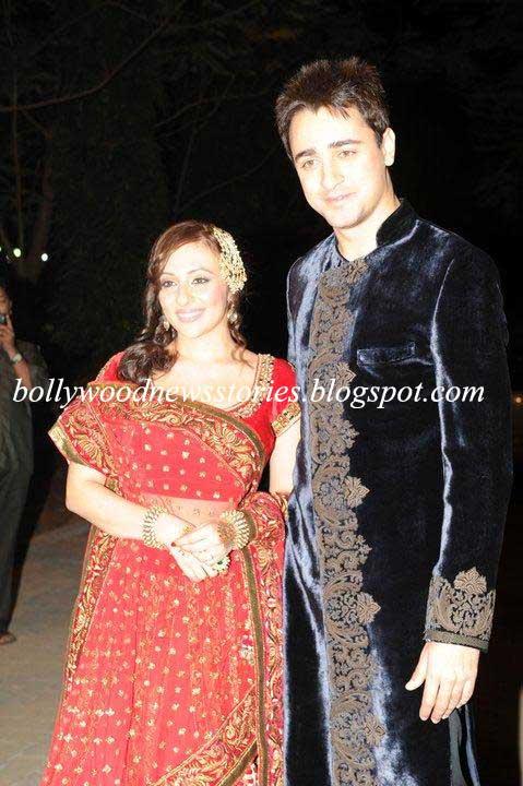 Imran Khan and Avantika Malik at their Wedding Sangeet Ceremony