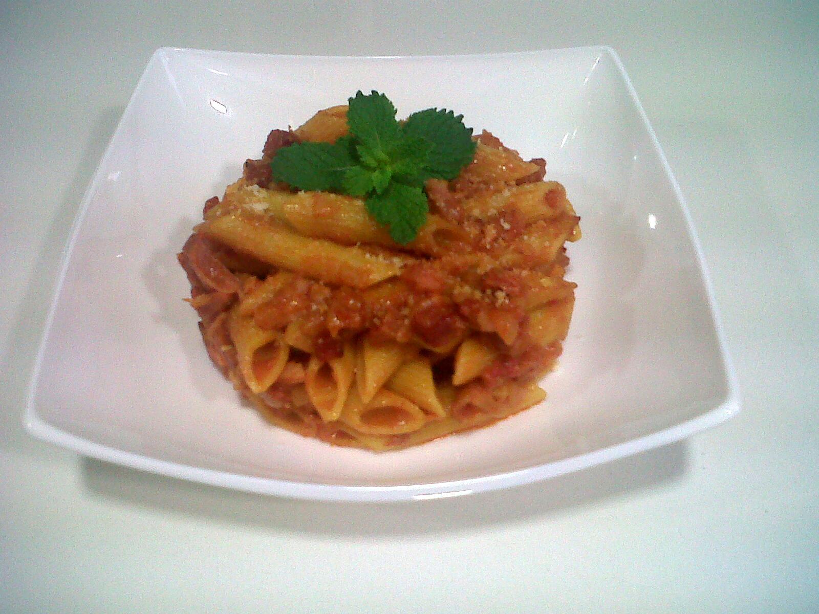 Las recetas de mar macarrones al horno - Macarrones con verduras al horno ...