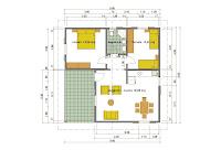 Case prefabbricate casa 75 mq portico 17 mq - Casa prefabbricata prezzo mq ...
