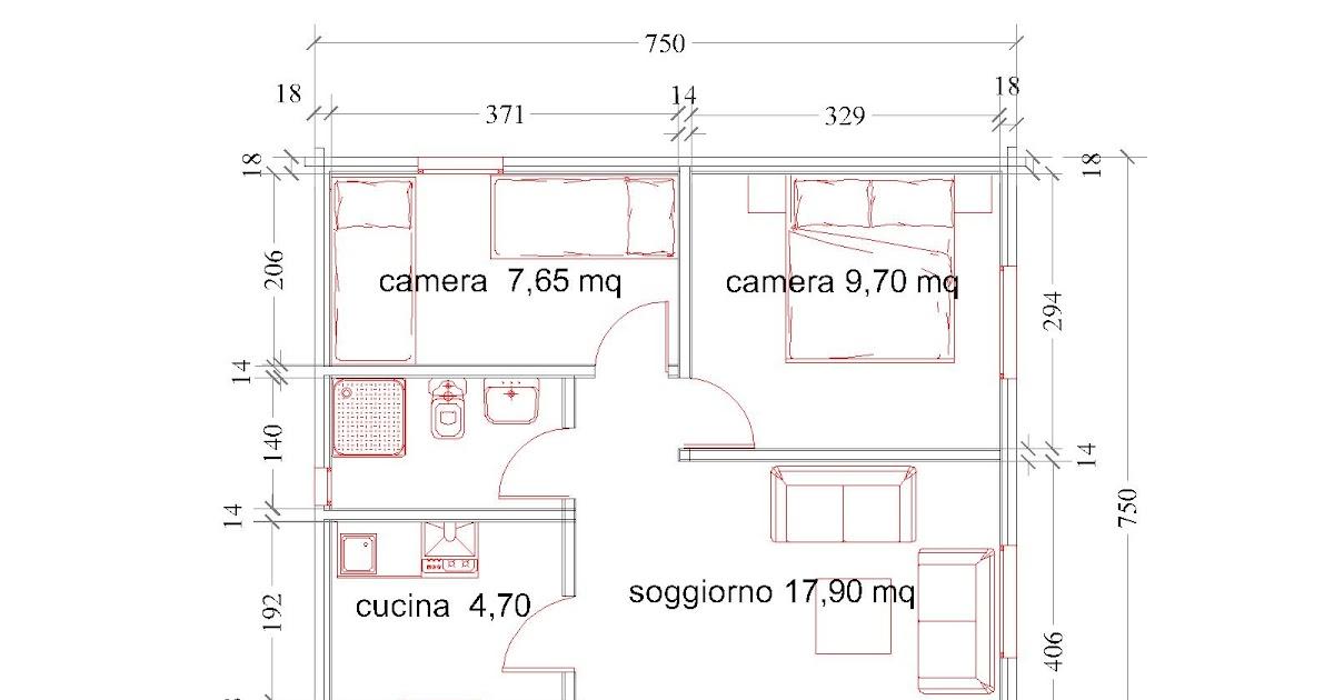 Progetti di case in legno casa 52 mq portico 7 mq for Progetti di portico anteriore