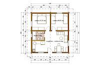 Progetti di case in legno casa 60 mq - Progetto casa 40 mq ...