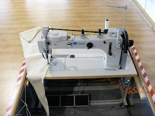 maquina solent de coser velas