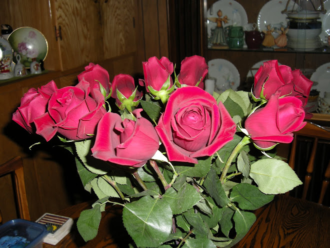 Red Roses for Birthday