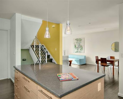 Beautiful Color House With Attractive Interior Design By Caron