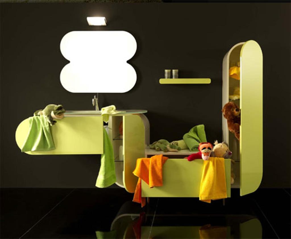 Bathroom design wastafel interior design inspiration flux for Muebles originales