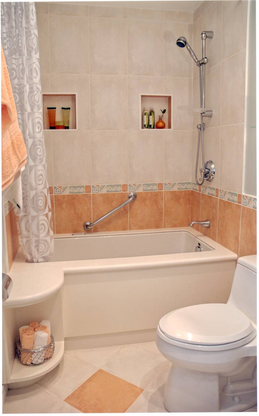Bathroom design ideas collection for a small bathroom design Smallest bath tub