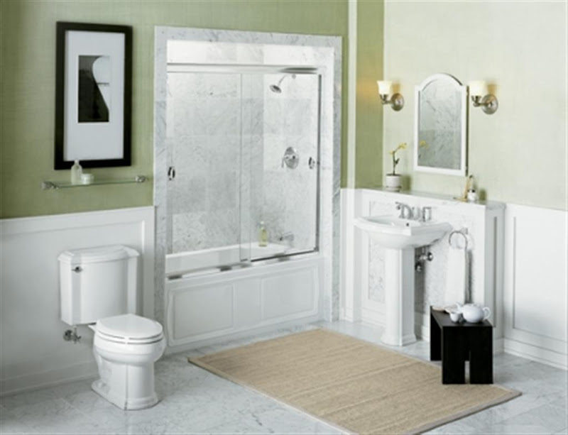 Modern Design Comfort Bathroom for Small Area title=