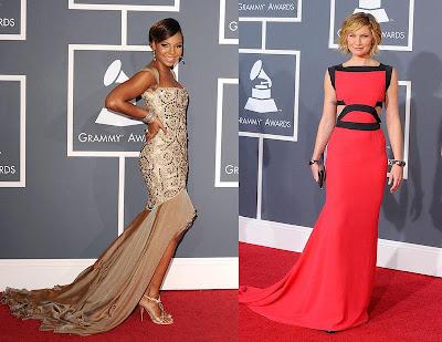 2010 Grammy Ashanti and Jennifer Nettles