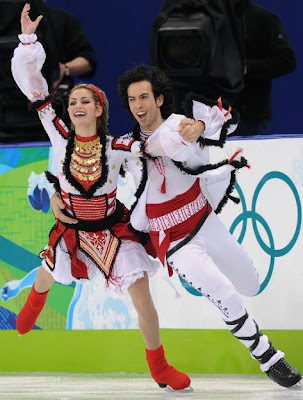 Winter Olympic Outrageous Outfits