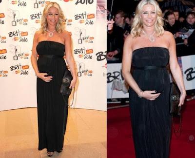 Denise Van Outen Brit awards