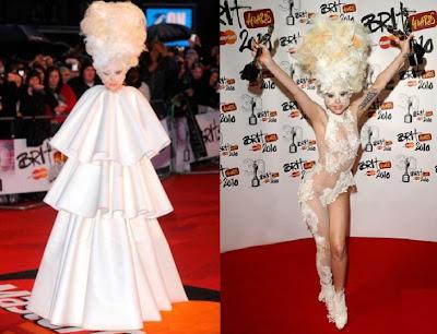Lady Gaga Brit Awards