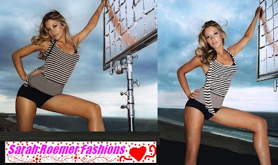 Fashion Fantasy World on Some Images Of Sarah Roemer Where You Can See Her Fashion Fantasy
