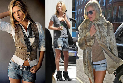 Kate Moss Jeans Short
