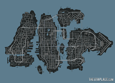 GTA 4 Full Map