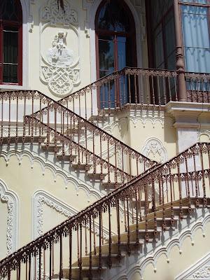 Museu Carlos Relvas - Escadaria lateral