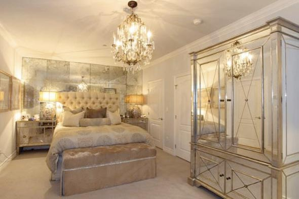 Kim Kardashians Apartment Bedroom T A N Y E S H