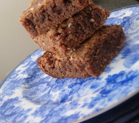 more than burnt toast: Caramel Sea Salt Brownies for ...