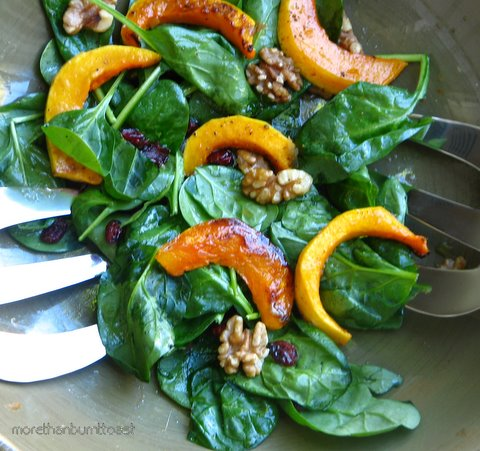 ... Goes for Roasted Butternut Squash Salad with Warm Cider Vinaigrette