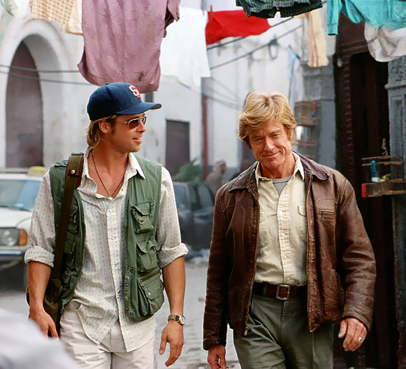 Robert Redford Brad Pitt Welcome to RolexMagazi...