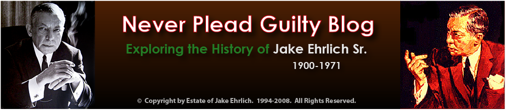 Never Plead Guilty Blog