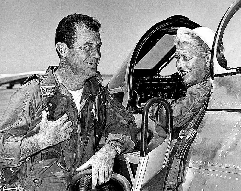 Before and after #18: chuck yeager
