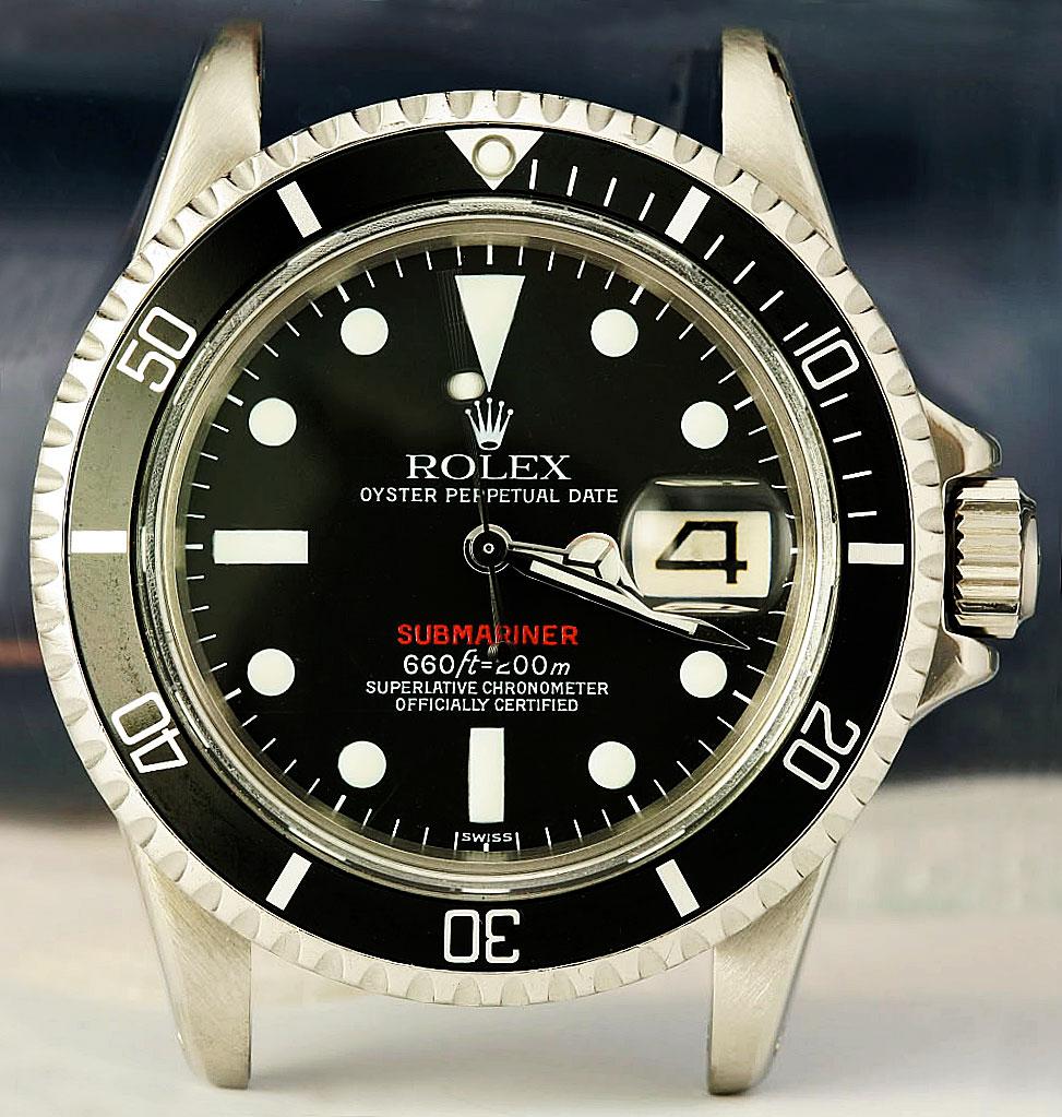 Rolex Red Submariner
