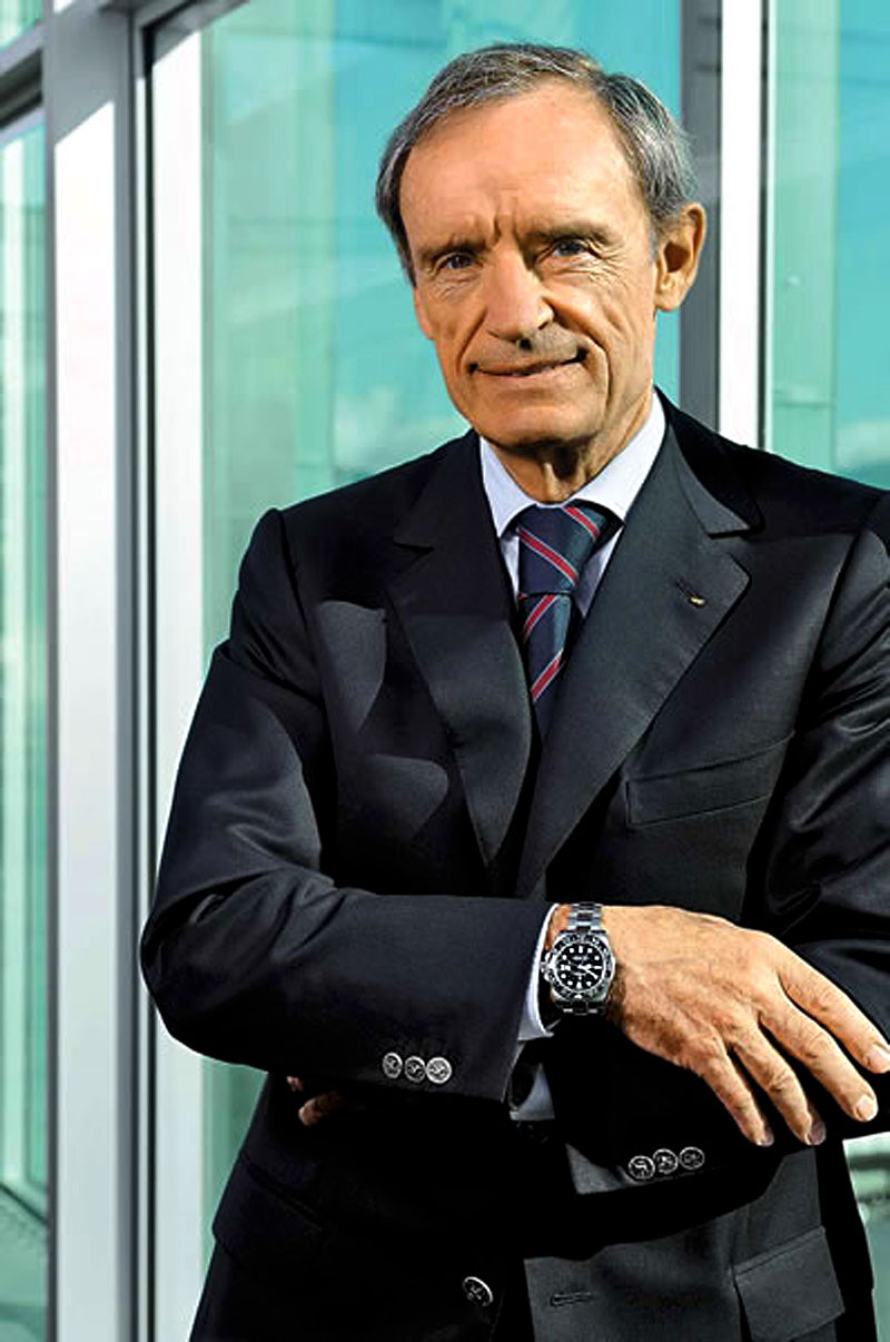 Rolex Coolness: Jean-Claude Killy-Stainless Steel Rolex GMT Master II .