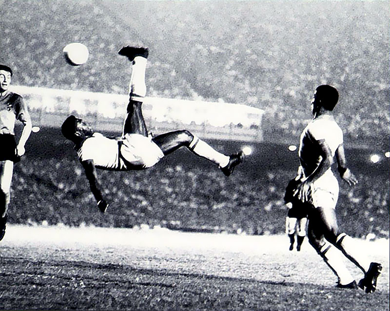 Pele Soccer Kick