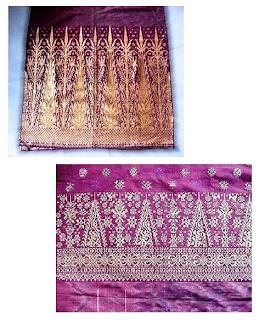kain songket aceh atau tenun ikat tradisional aceh ini adalah ...