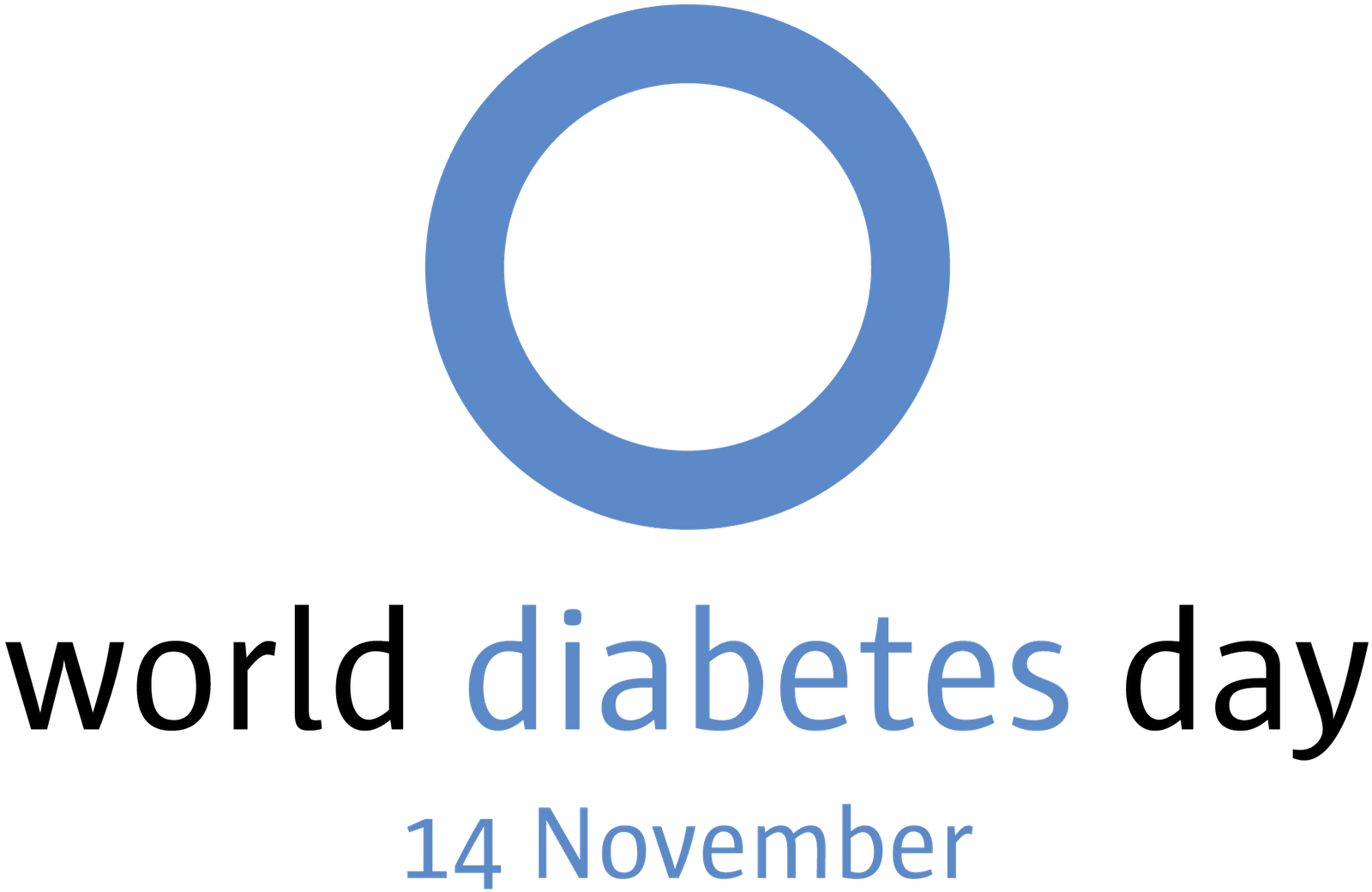 World diabetes day logo
